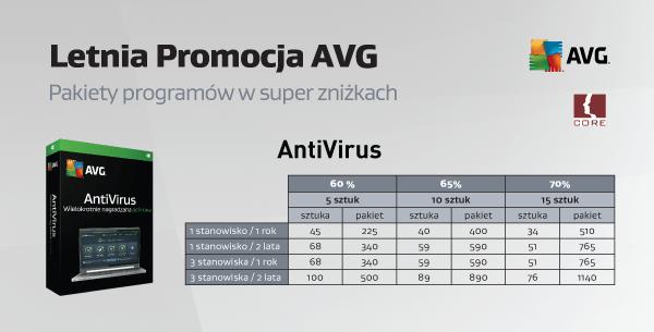 Pakiet antivirus w super zniżkach.