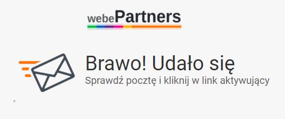 webePartners link aktywujący