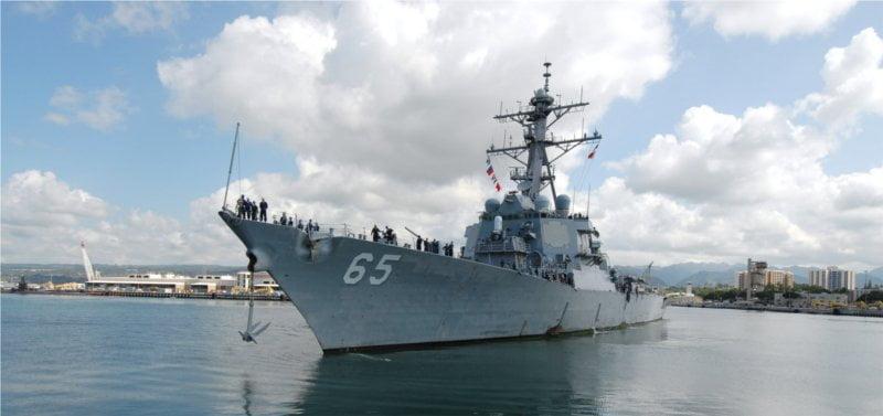 Zdjęcie USS Benfold w porcie