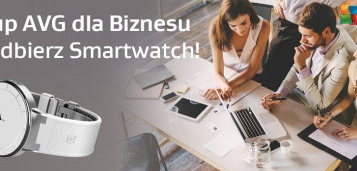 Smartwatch nagroda AVG