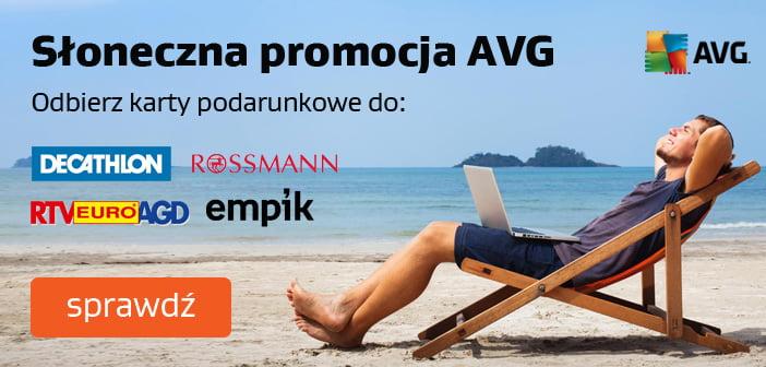 Słoneczna promocja AVG