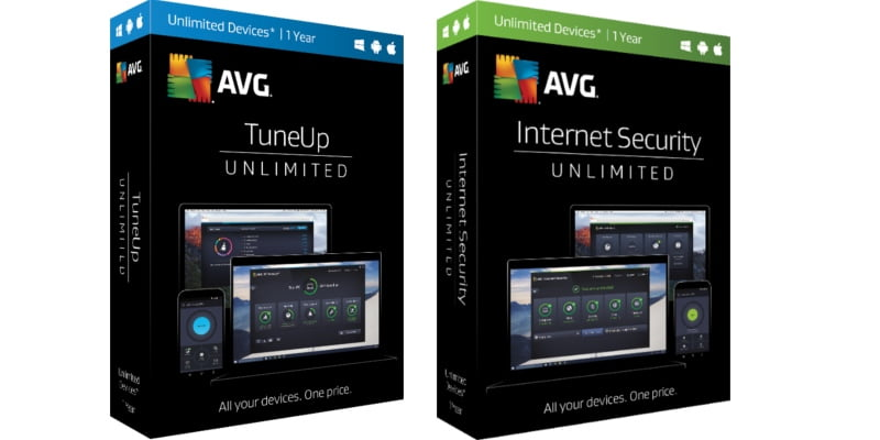 nowe opisy produktów AVG