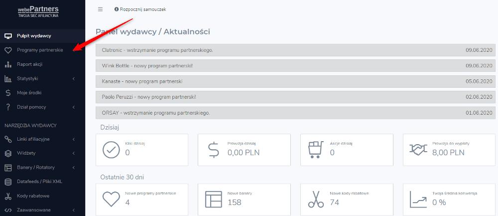 Kupony rabatowe generowanie w programie partnerskim AVG na webePartners.