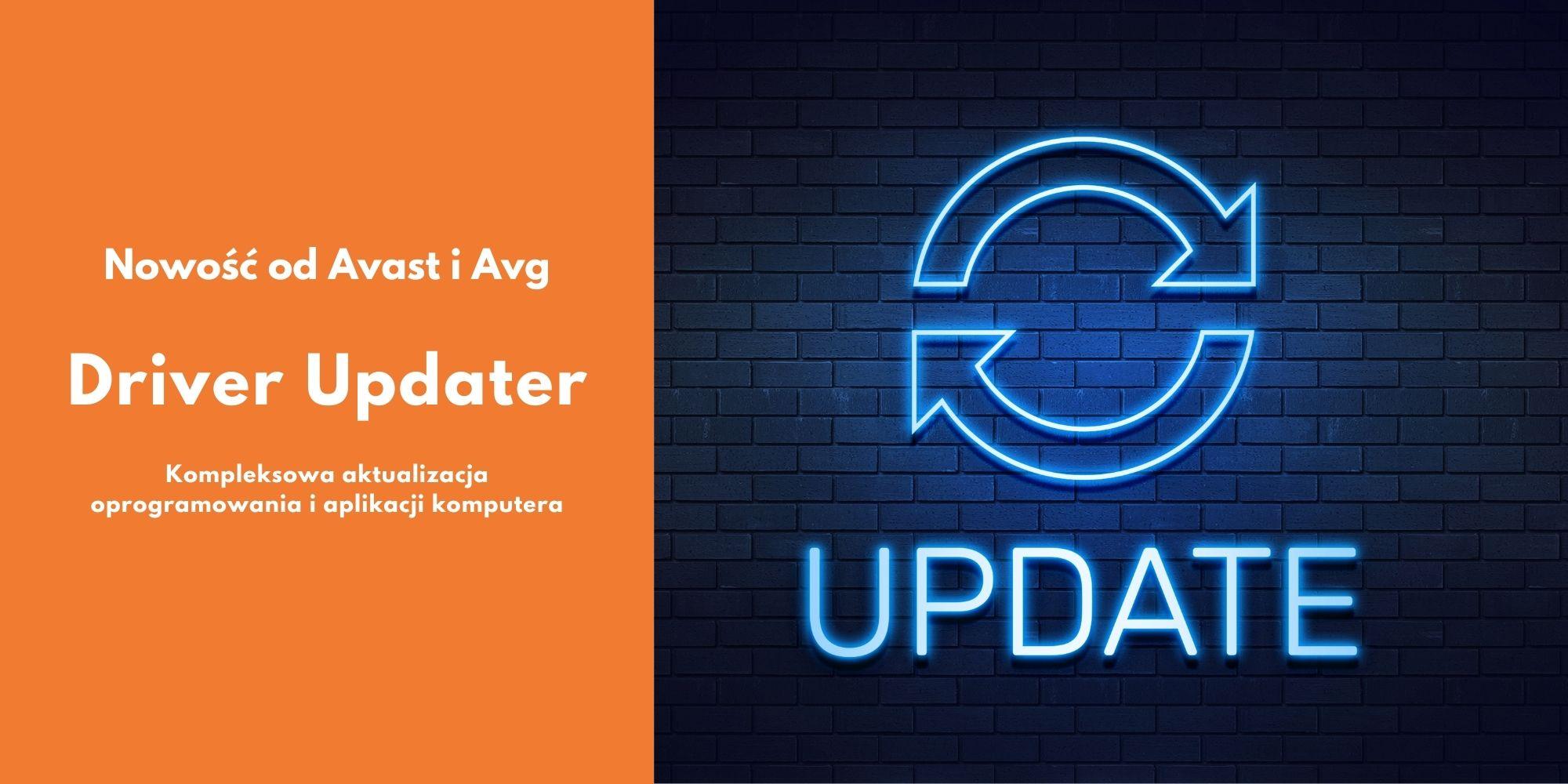 Aktualicacja sterowników dzięki AVG Driver Updater lub Avast Driver Updater.